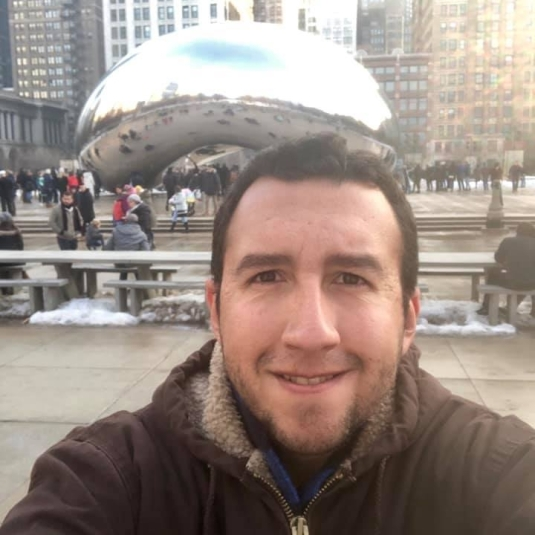 Jacob Devlin with the Chicago Bean
