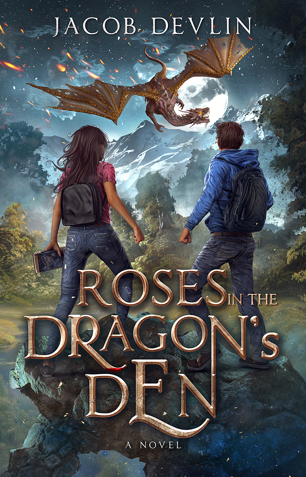 Roses in the Dragon's Den final front cover for preview
